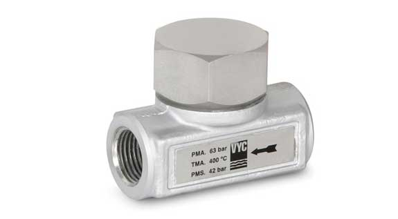 Thermodynamic steam trap without filter - Mod. 041 EN