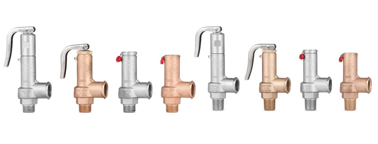 New range of Full lift safety valve with spring loading (AIT).