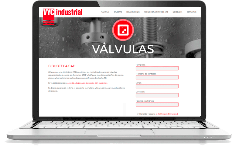 Valve CAD Library | VYC Industrial