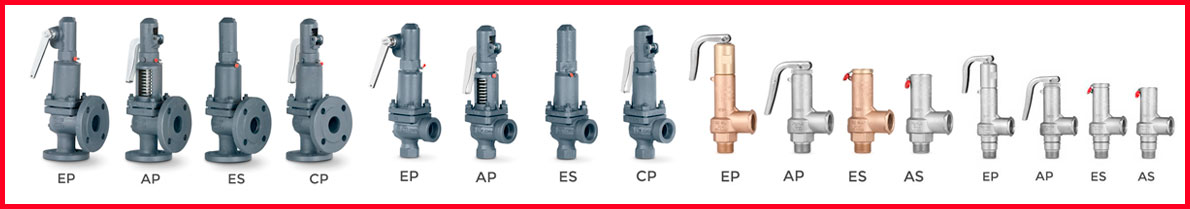 Safety valves AIT