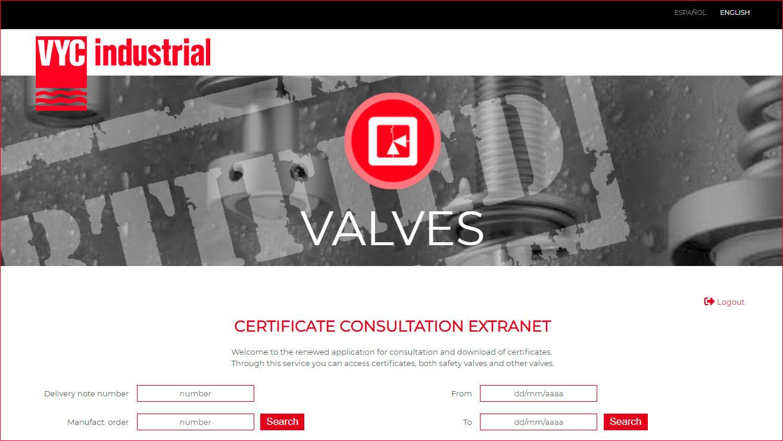 Certificate consultation application