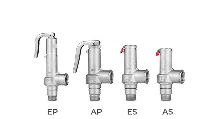 Válvula de seguridad de apertura total instantánea (AIT) - Mod. 995 EN