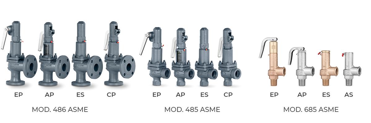 Válvulas de Seguridad - 486 485 685 ASME - VYC Industrial